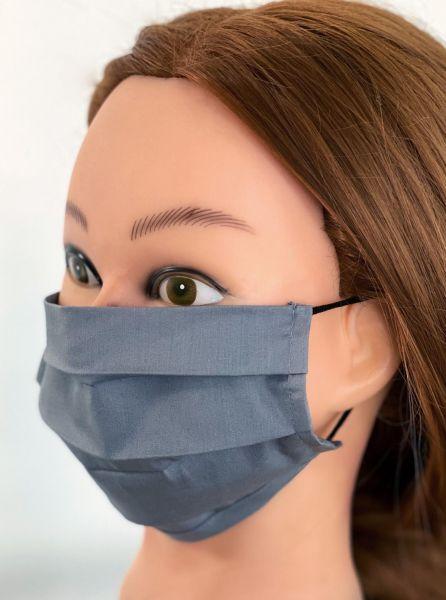 BW Mund-Nasen-Maske   grau   ST  1er Pack mit Ohrgummi