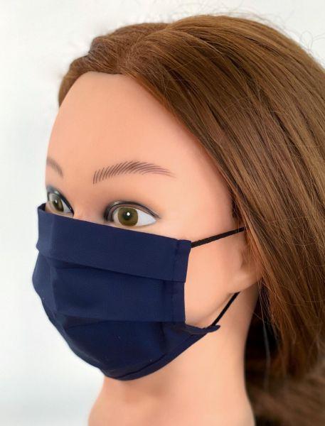 BW Mund-Nasen-Maske   blau   ST  1er Pack mit Ohrgummi